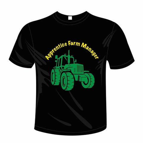 Personalised Tractor t-shirt, t-shirt, Tractor t-shirt, Tractor fan, t-shirt, personalised t-shirt, Tractor, Tractors, Farming